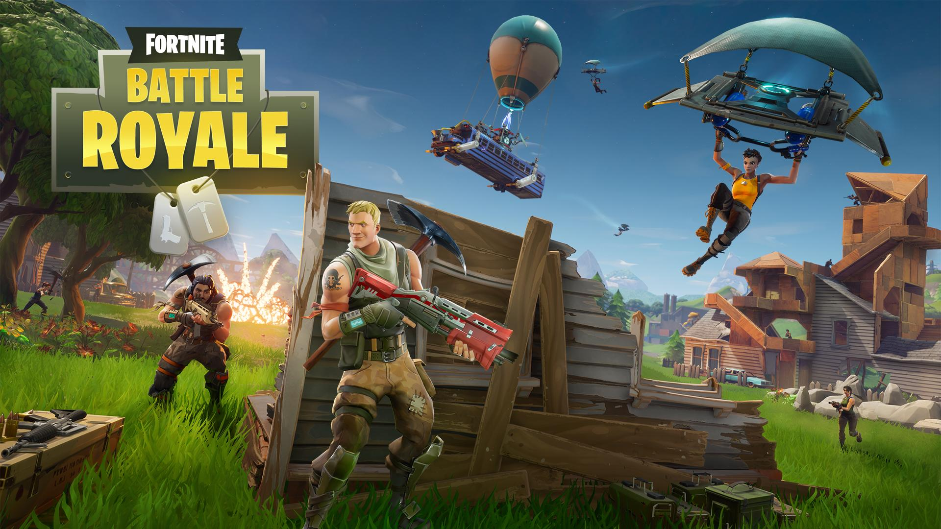 Fornite Battle Royale Tüm Platformlarda