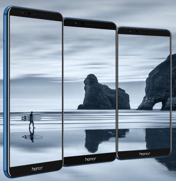Çift kameralı ve çerçevesiz: Huawei Honor 7X!