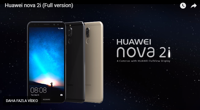 Huawei Nova 2i Reklam Filmi Yayınlandı!