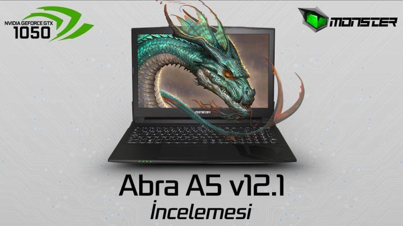 Monster Notebook – Abra A5 V12.1 15.6 Ön İncelemesi