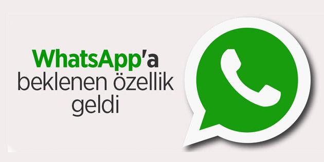 Whatsapp'ın yeni Anlık Konum özelliği artık aktif !