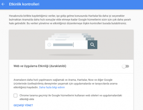 Google Hesabım