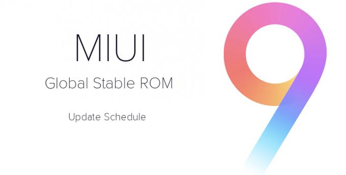 MIUI 9 güncellemesi bugün başladı !