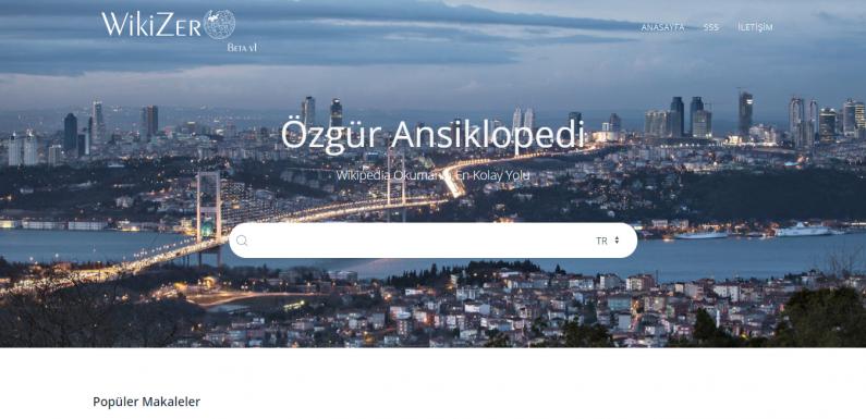 Vikipedi, Türkiye'den Erişilebilirlik İçin Yeni Projesi WikiZero'yu Beta Olarak Kullanıma Açtı !